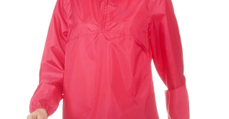 Photo of Soldes Decathlon Veste Imperméable randonnée nature femme Raincut rose 89Dhs