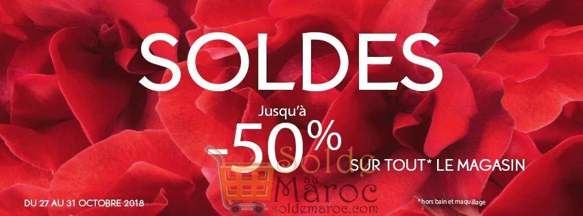 Promo Yves Rocher Maroc -50%* Jusqu'au 31 Novembre 2018
