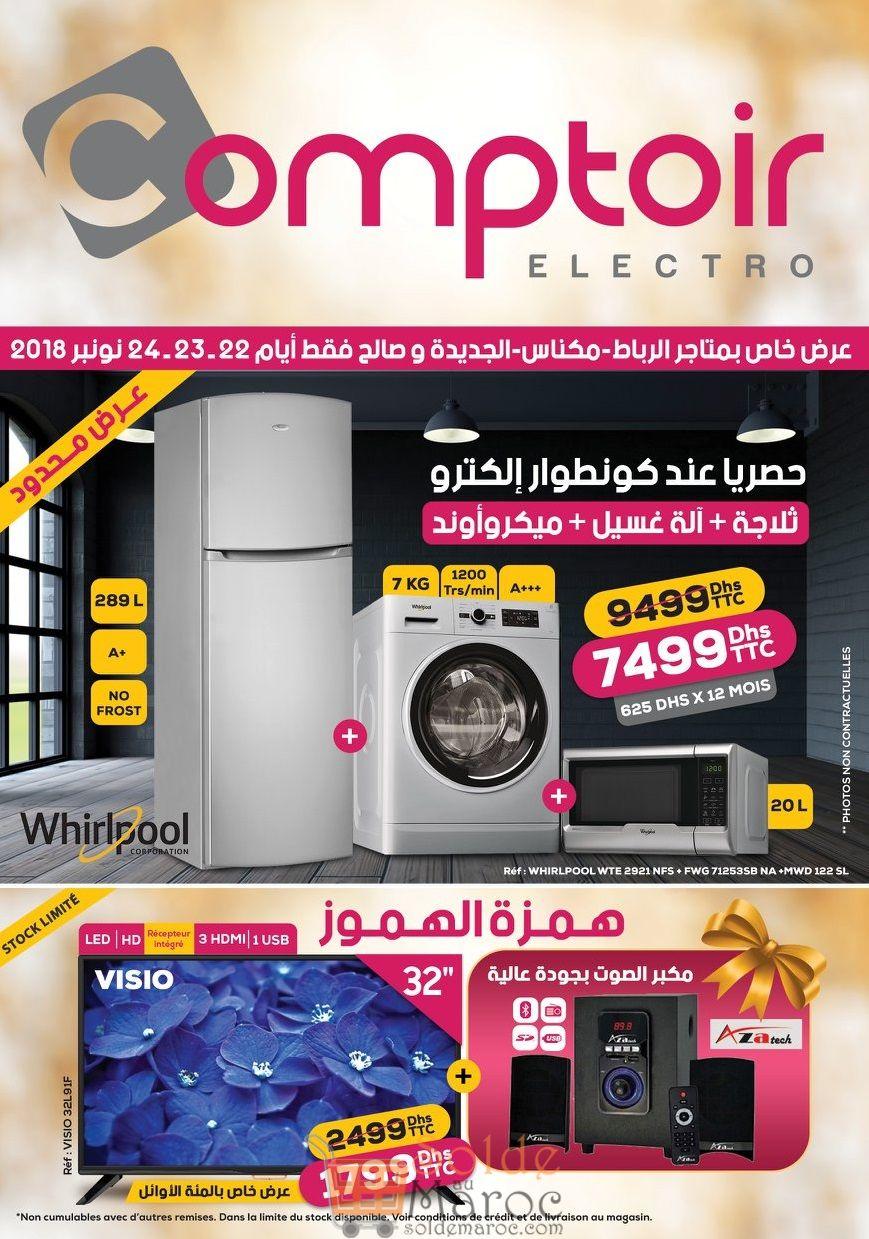 Catalogue Régional Le Comptoir Electro du 22 au 24 Novembre 2018