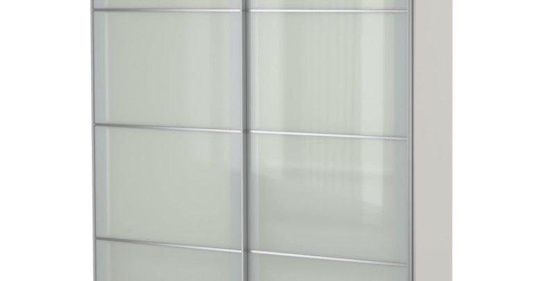 Soldes Ikea Maroc Penderie PAX blanc Sekken verre dépoli 4600Dhs au lieu de 5750Dhs