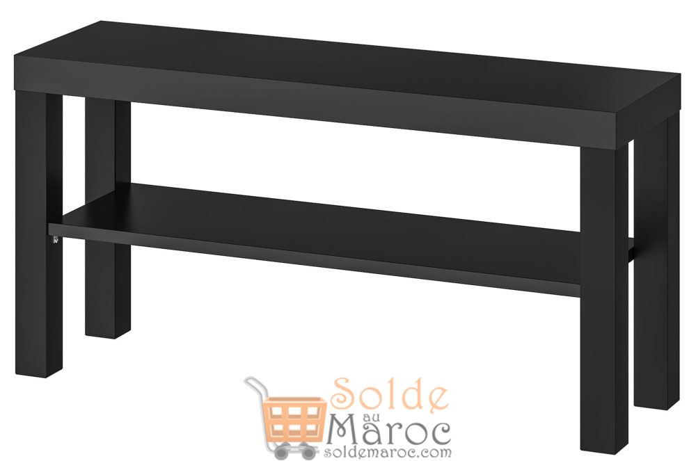 Offre Spéciale Ikea Maroc Meuble TV LACK noir 129Dhs