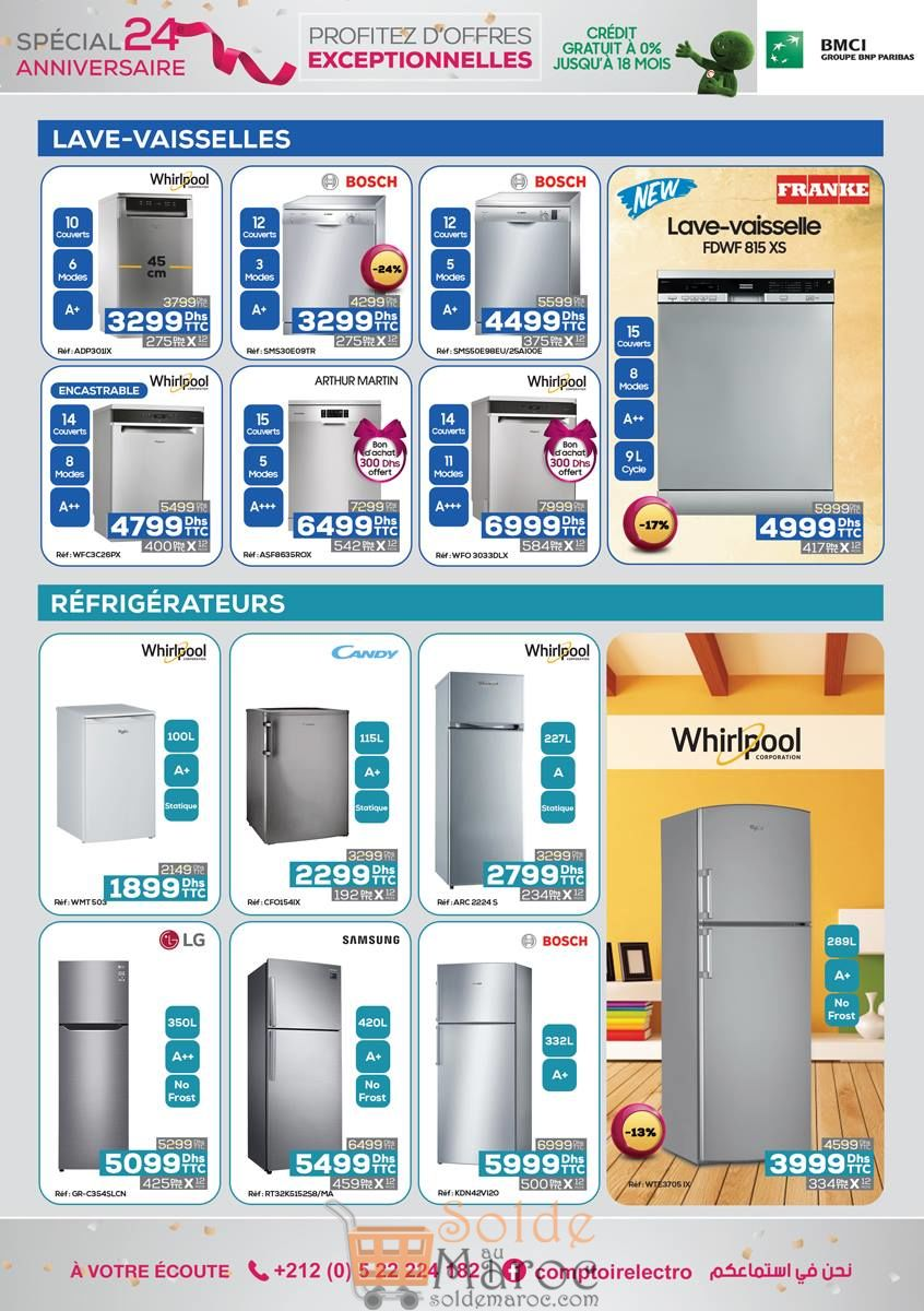 Catalogue Le Comptoir Electro du 1 au 20 Novembre 2018