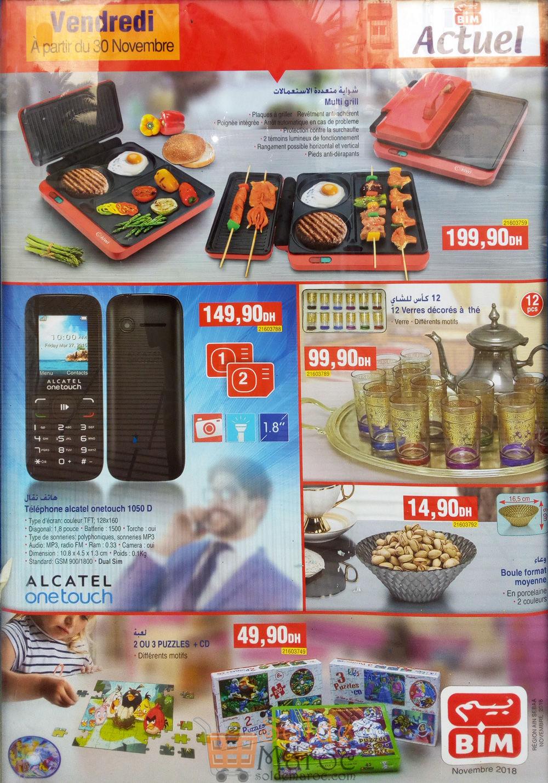 Catalogue Bim Maroc Région Ain Sebaa du vendredi 30 Novembre 2018