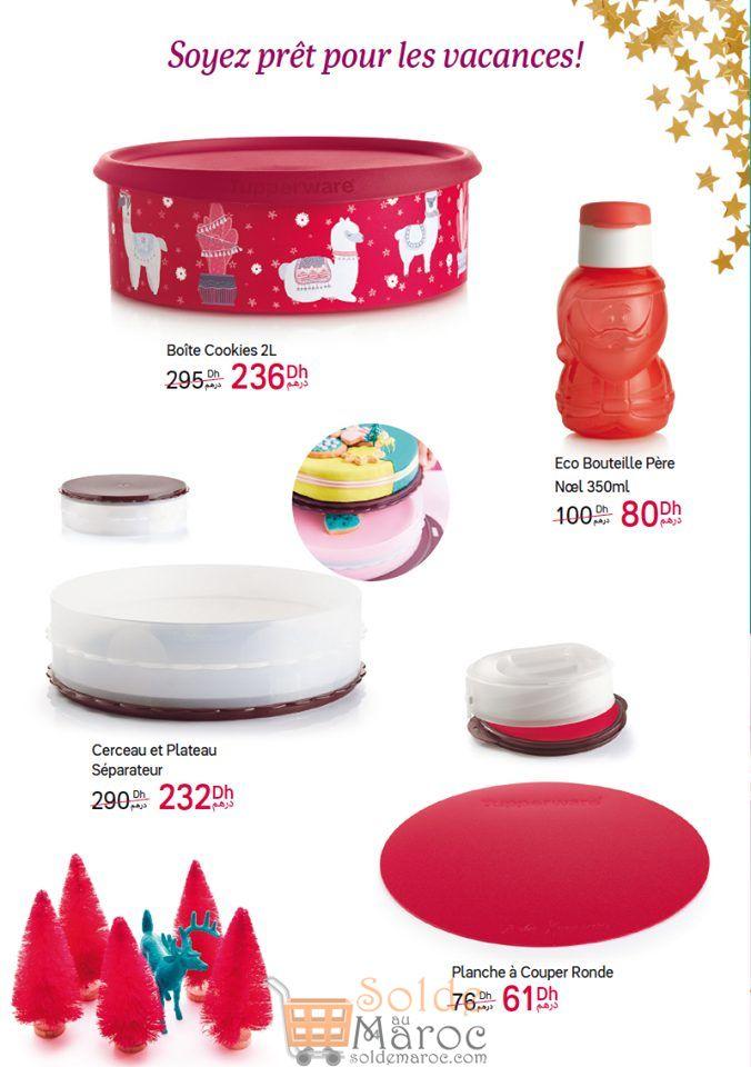 Catalogue Tupperware Maroc Spéciales vacances Novembre 2018