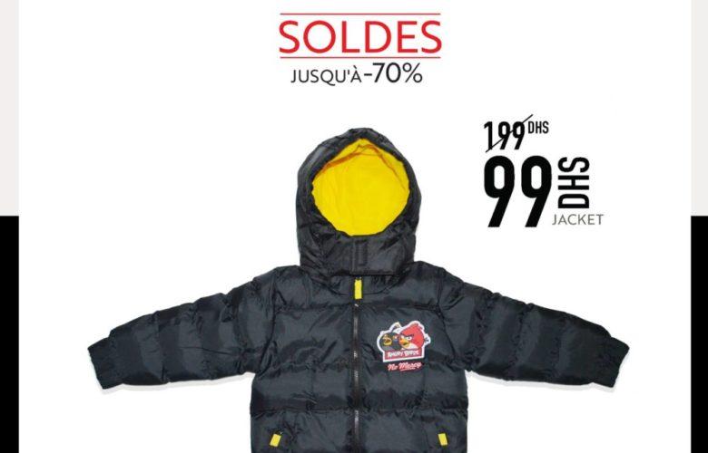 Soldes Miro Home Jacket 2 à 7ans Garçon 99Dhs au lieu de 199Dhs