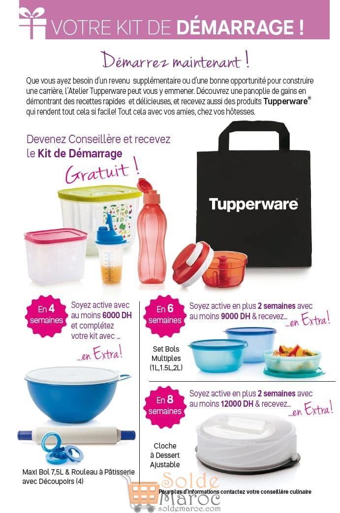 Catalogue Tupperware Maroc du 5 Novembre au 2 Décembre 2018