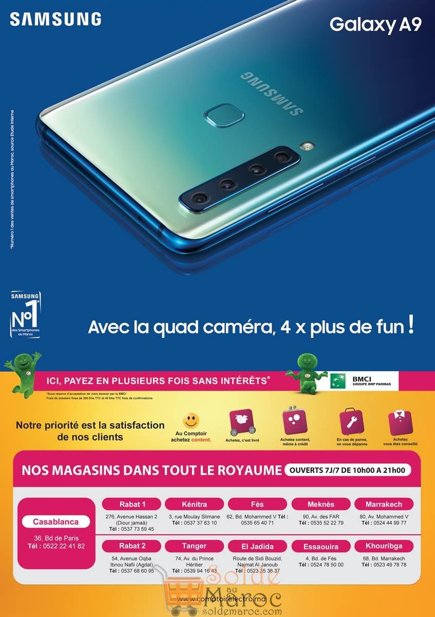 Catalogue Le Comptoir Electro du 27 Novembre au 15 Décembre 2018