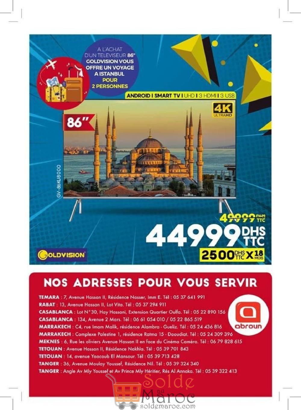 Catalogue Abroun Electro GOLD DAYS Jusqu'au 31 Décembre 2018