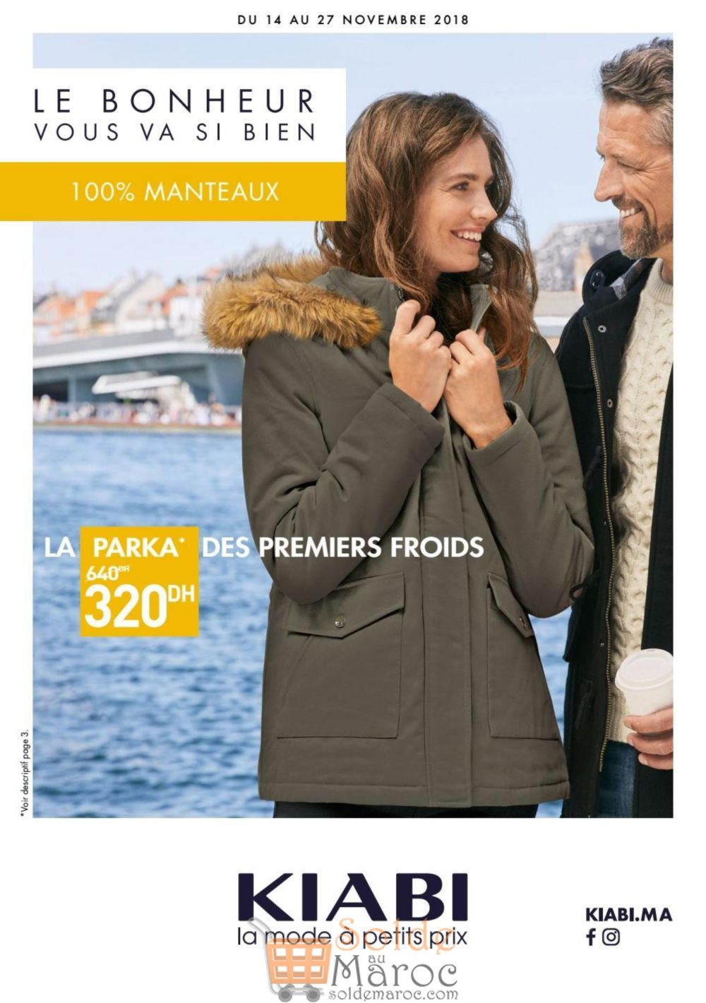 Catalogue Kiabi Maroc Collection 100% Manteaux