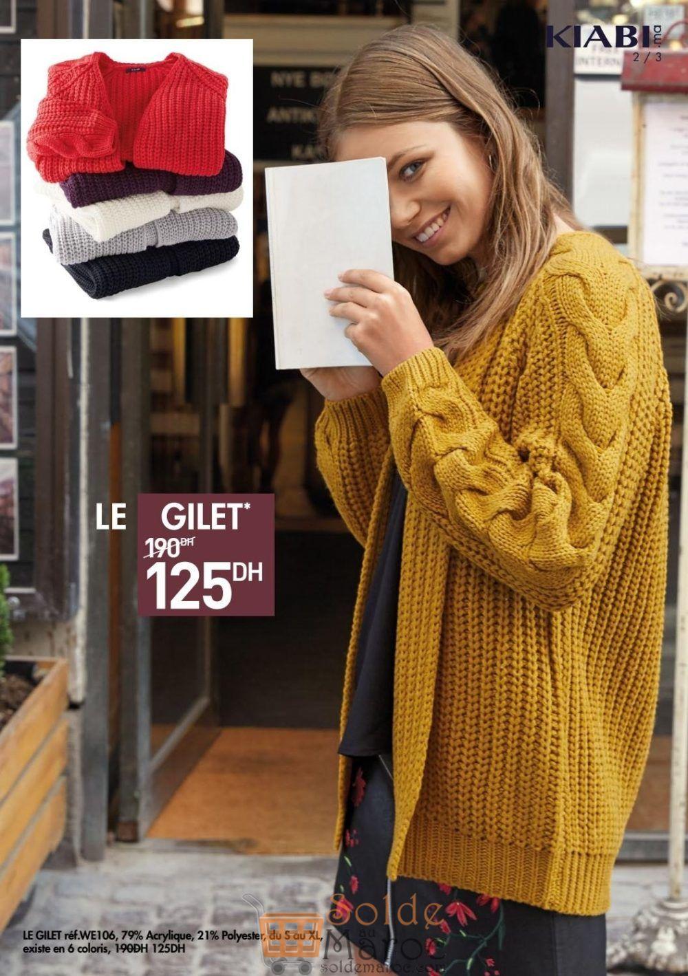 Catalogue Kiabi Maroc Dressing d'automne jusqu'au 13 Novembre 2018