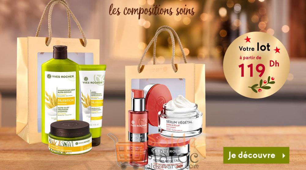 Promo Yves Rocher Maroc Vos routines Beauté adaptée : jusqu'à -50%