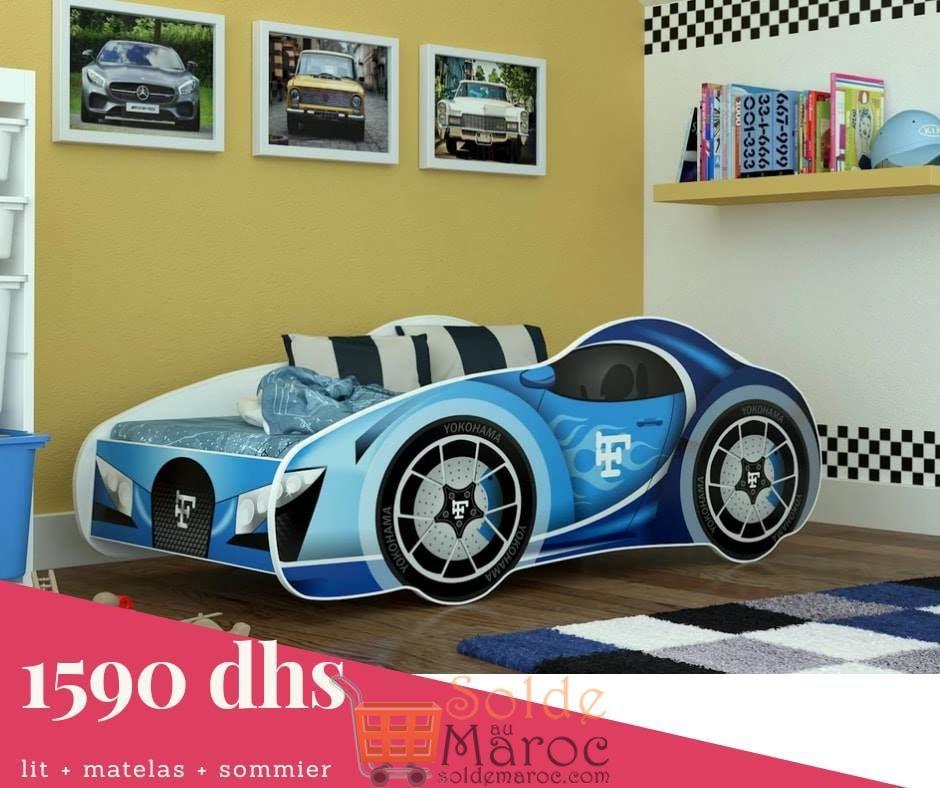 Nouveau chez Azura Home Pack Silverstone lit + sommier + matelas 1590Dhs