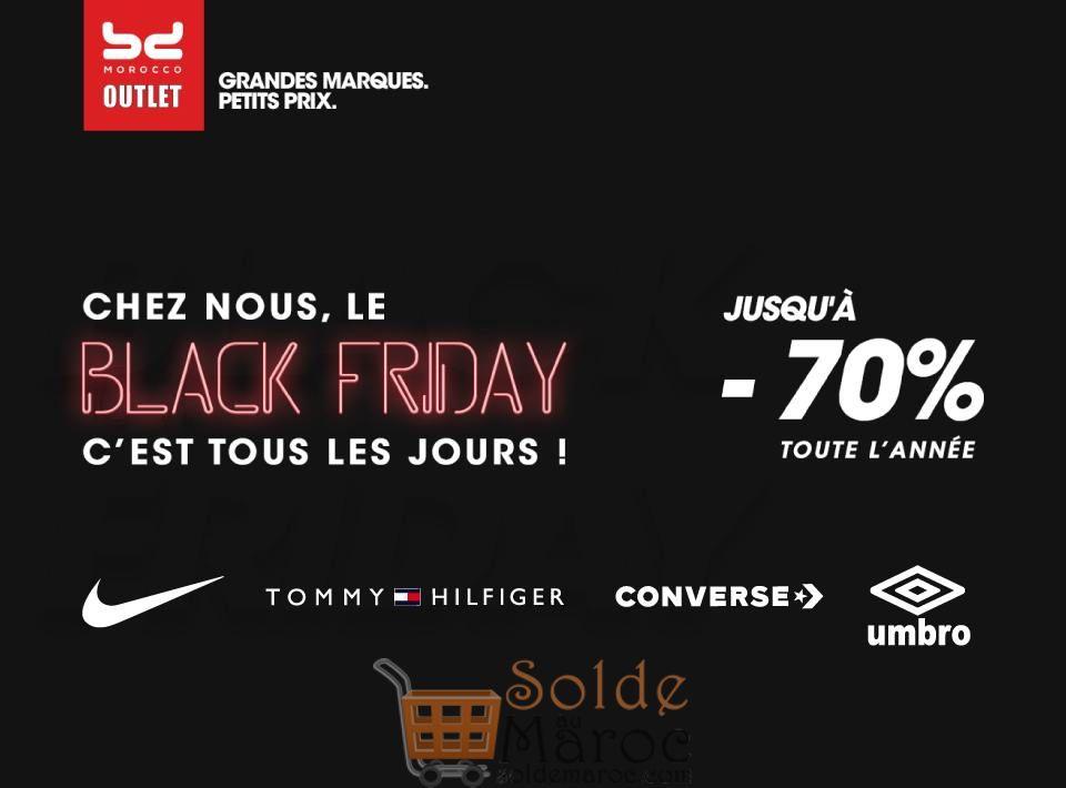 Black Friday BD Outlet Morocco Jusqu'à -70% toute l'année