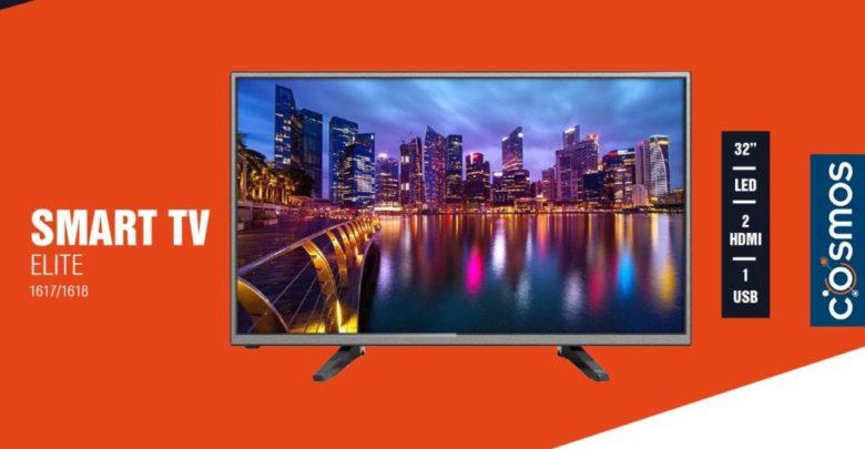 Promo Cosmos Electro Smart TV ELITE 32° LED 1590Dhs au lieu de 1990Dhs