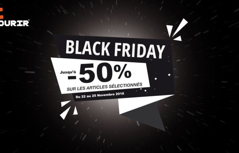 Black Friday Courir Maroc -50% Jusqu'au 25 Novembre 2018