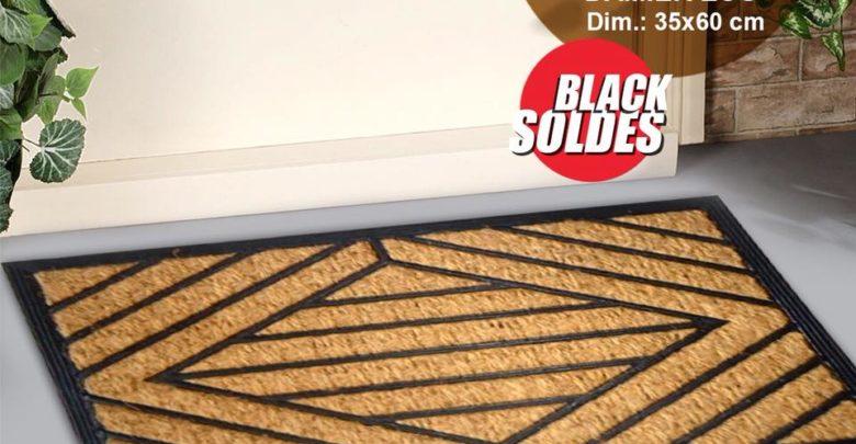 Black Soldes Kitea Paillasson DAMIER ECO 25Dhs au lieu de 37Dhs