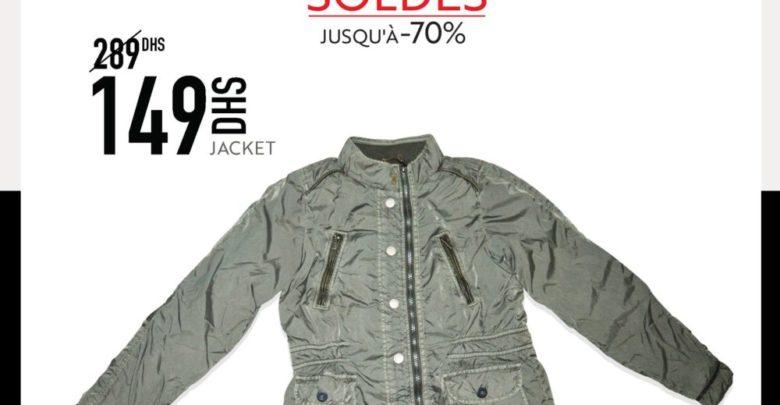 Soldes Miro Home Jacket Garçon 149Dhs au lieu de 289Dhs