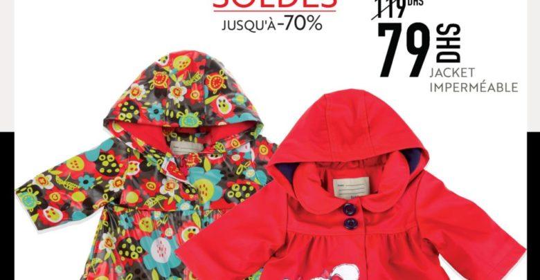 Photo of Soldes Miro Home Jacket Imperméable 79Dhs au lieu de 119Dhs