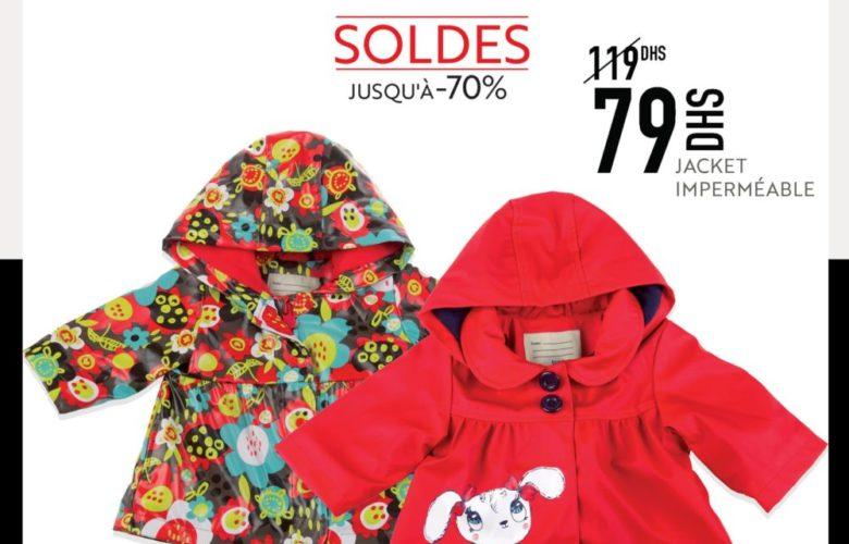 Soldes Miro Home Jacket Imperméable 79Dhs au lieu de 119Dhs