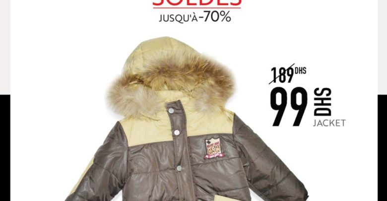 Soldes Miro Home Jacket Garçon 99Dhs au lieu de 189Dhs
