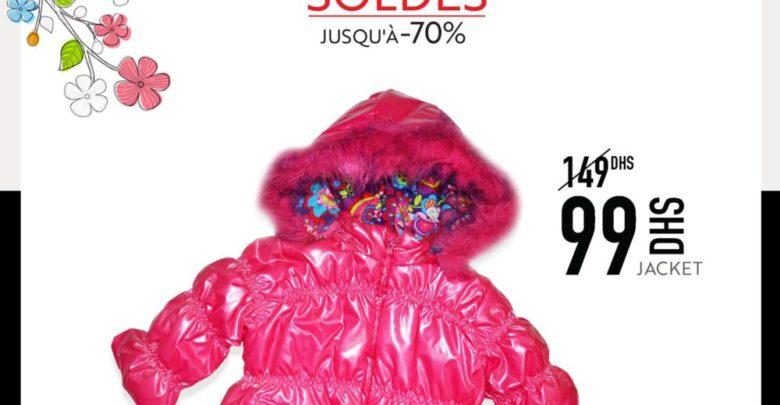 Soldes Miro Home Jacket bébé 99Dhs au lieu de 149Dhs