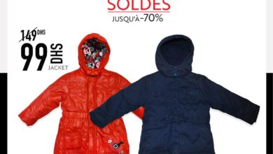 Soldes Miro Home Jacket fille et garçon 99Dhs au lieu de 149Dhs