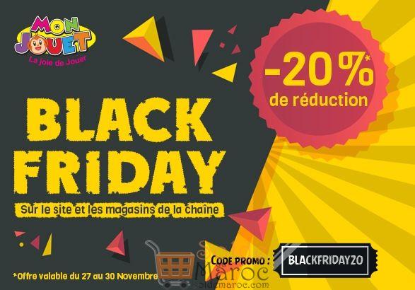 Black Friday Mon Jouet Jusqu'au 30 Novembre 2018