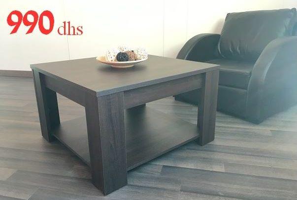 Promo Azura Home TABLE BASSE LISA 80CM 990Dhs au lieu de 2782Dhs