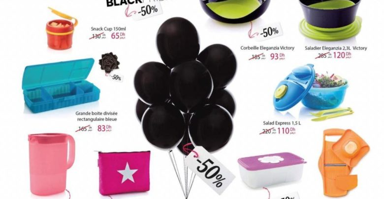 Photo of Black Friday Tupperware Maroc Jusqu'à -50% de remise