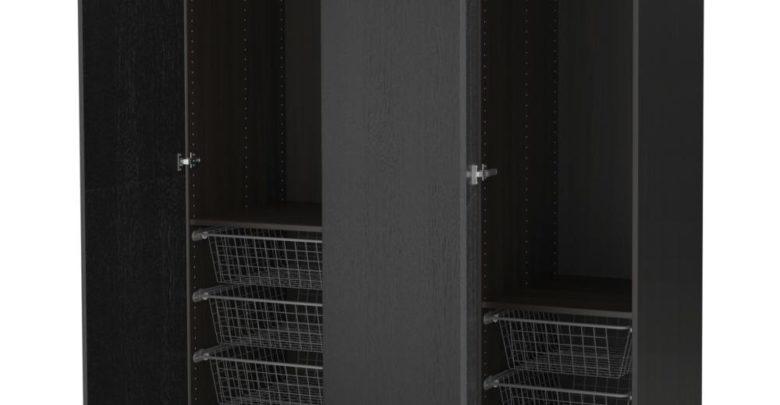 Soldes Ikea Maroc Penderie PAX noir-brun Nexus 4440 Dhs au lieu de 5190Dhs