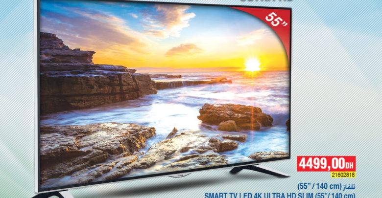 Photo of Flyer Bim Maroc Smart TV 55° 4k Lifemaxx 4499Dhs à partir du 4 Janvier 2018