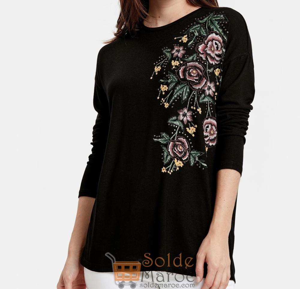 Soldes LC Waikiki Maroc T-Shirt femme 99Dhs au lieu de 119Dhs