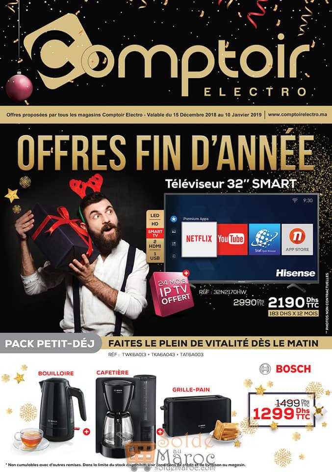 Catalogue Fin d'année Le Comptoir Electro Jusqu'au 10 Janvier 2019
