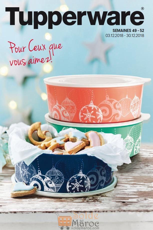 Catalogue Tupperware Maroc du 3 au 30 Décembre 2018