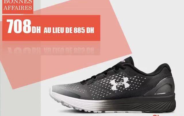 Soldes Olympe Store Chaussure de Sport UNDER ARMOR 708Dhs au lieu de 885Dhs