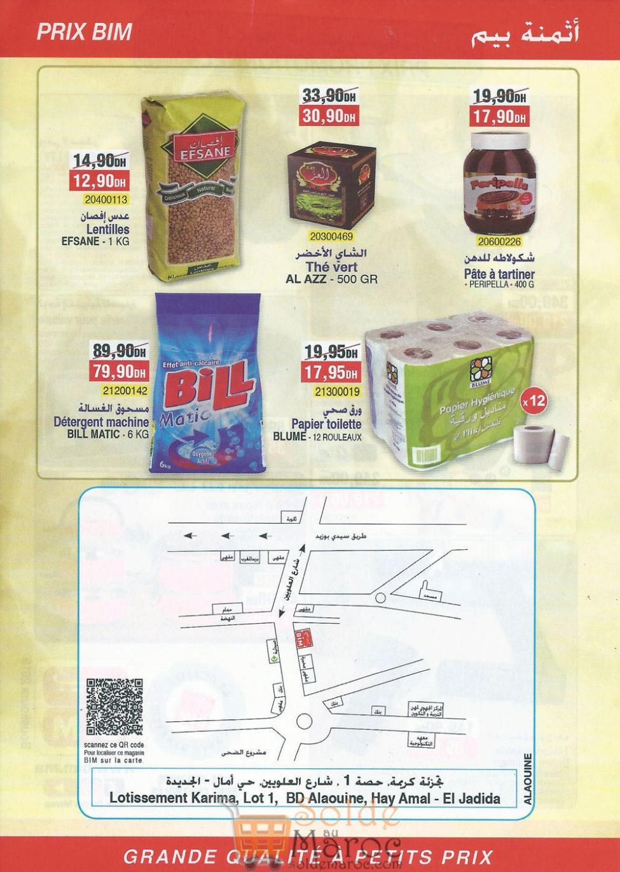 Catalogue Bim Alaouiyine El Jadida du 1 au 6 Janvier 2018