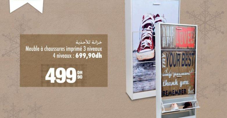 Soldes Aswak Assalam Meubles chaussures 499Dhs au lieu de 699Dhs