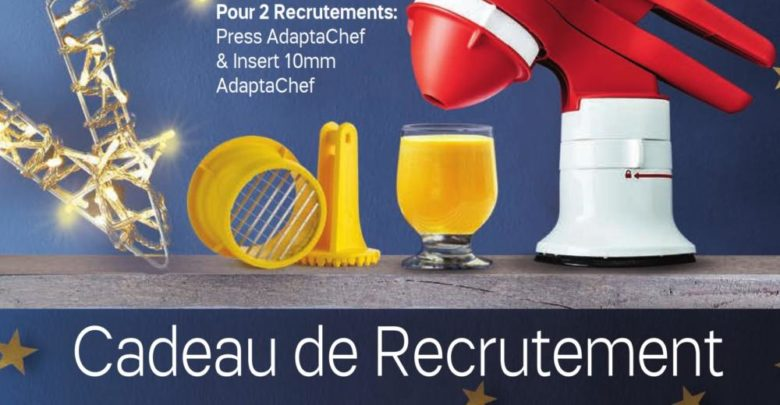 Photo of Catalogue Tupperware Maroc Cadeau de recrutement Jusqu'au 30 Décembre 2018