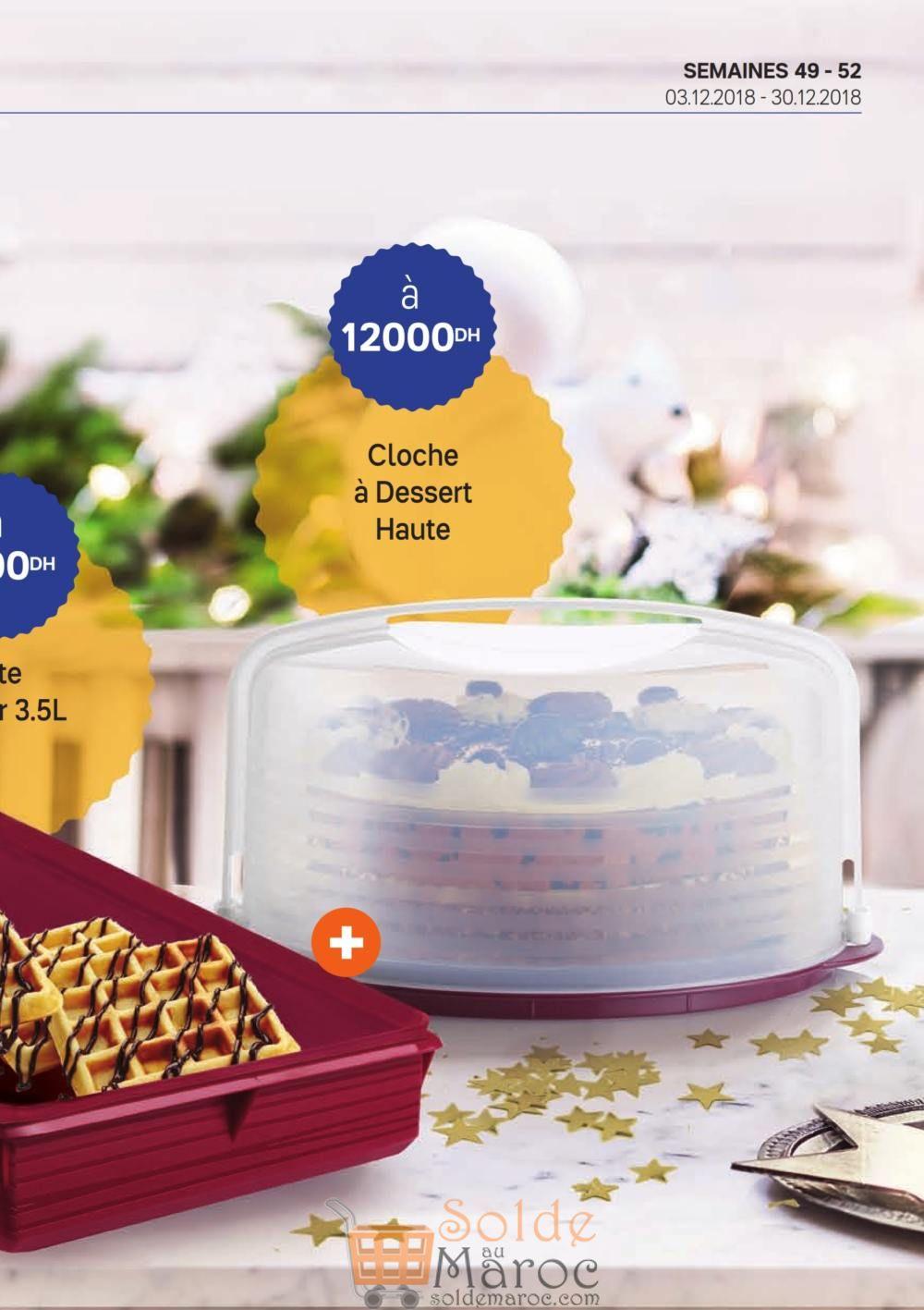 Catalogue Tupperware Maroc Cadeau de recrutement Jusqu'au 30 Décembre 2018