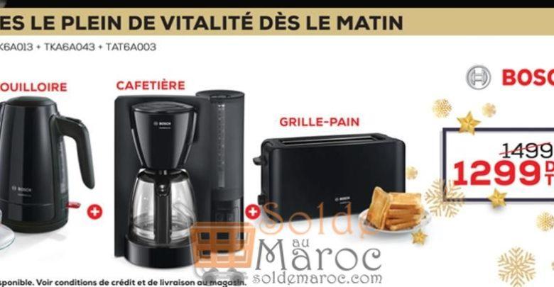 Photo of Promo Le Comptoir Electro Pack Petit-dej Bosch 1299Dhs au lieu de 1499Dhs