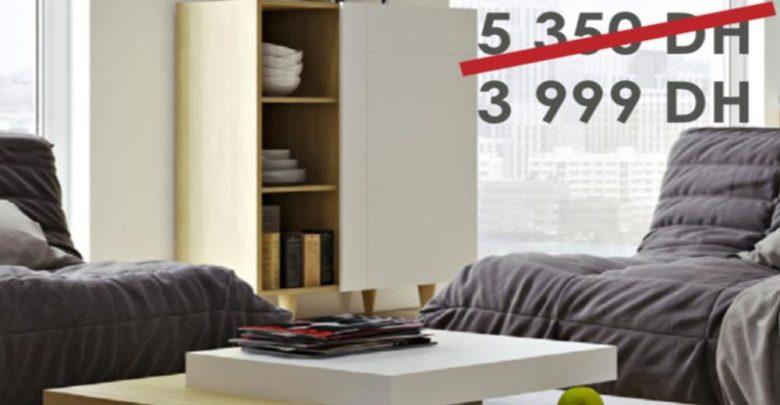 Promo Cozy Home Table Basse SLATE 3999Dhs au lieu de 5350Dhs