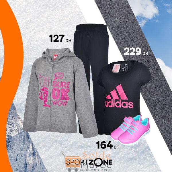 Offre Spéciale Sport Zone Maroc divers articles de sport femme