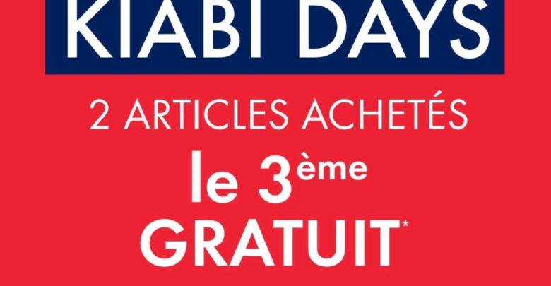 Déstockage Kiabi Maroc 2 Articles achetés le 3ème gratuit