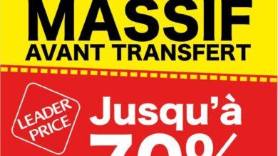 Photo of Déstockage Massif avant transfère Leader Price Maroc Décembre 2018
