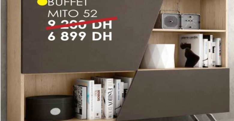 Photo of Soldes Cozy Home Buffet MITO 52 6899Dhs au lieu de 9200Dhs