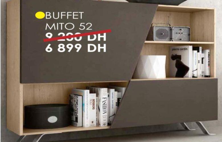 Soldes Cozy Home Buffet MITO 52 6899Dhs au lieu de 9200Dhs