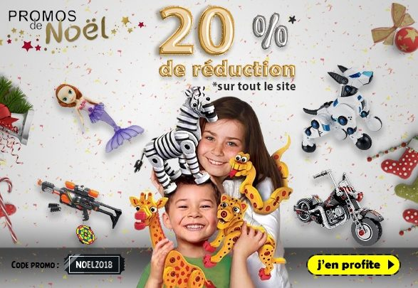 Photo of Promo fin d'année chez Mon Jouet Jusqu'à -20% sur tous le site