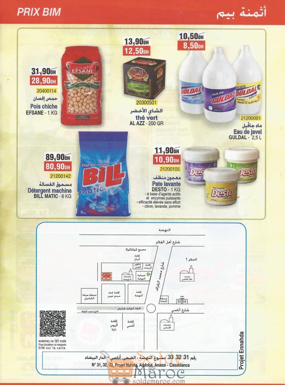 Catalogue Bim Nahda Anassi Casablanca Aujourd'hui Seulement