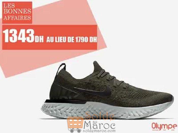 Soldes Olympe Store Chaussure de sport NIKE 1343Dhs au lieu de 1790Dhs