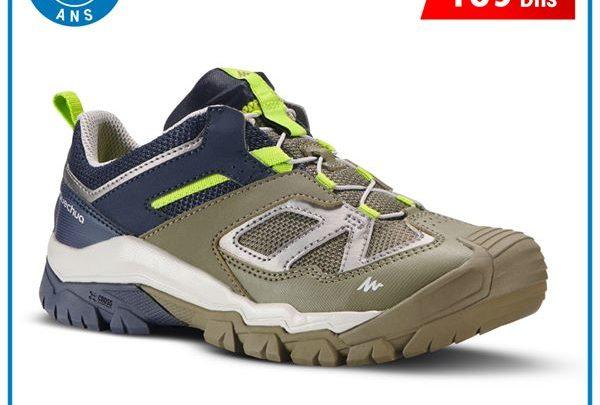 Photo of Soldes Decathlon Maroc Chaussures de randonnée montagne Crossrock JR 189Dhs au lieu de 269Dhs